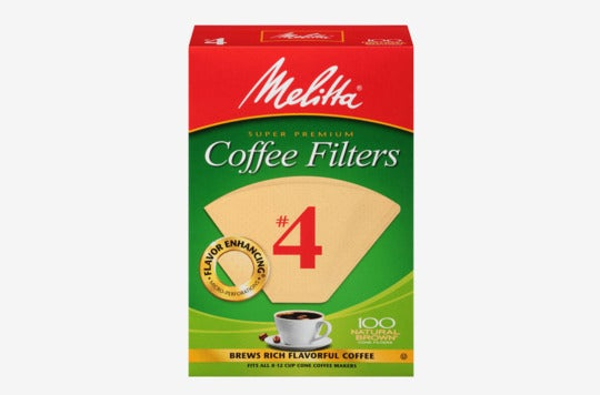 Melitta coffee filters.