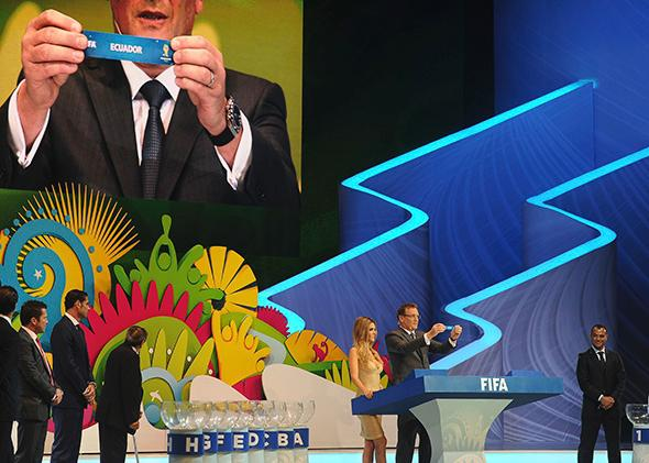 Final Draw of the Brazil 2014 FIFA World Cup