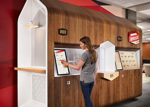 Briggo automated barista.