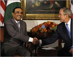 President Asif Ali Zardari of Pakistan