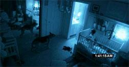"""Still from """"Paranormal Activity 2"""". Click image to expand."""