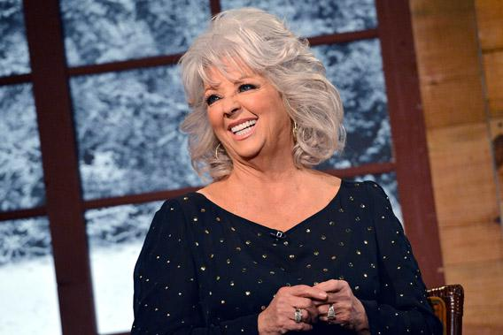 Cooking show host Paula Deen visits Fox & Friends Christmas Special at FOX Studios on December 6, 2012 in New York City.