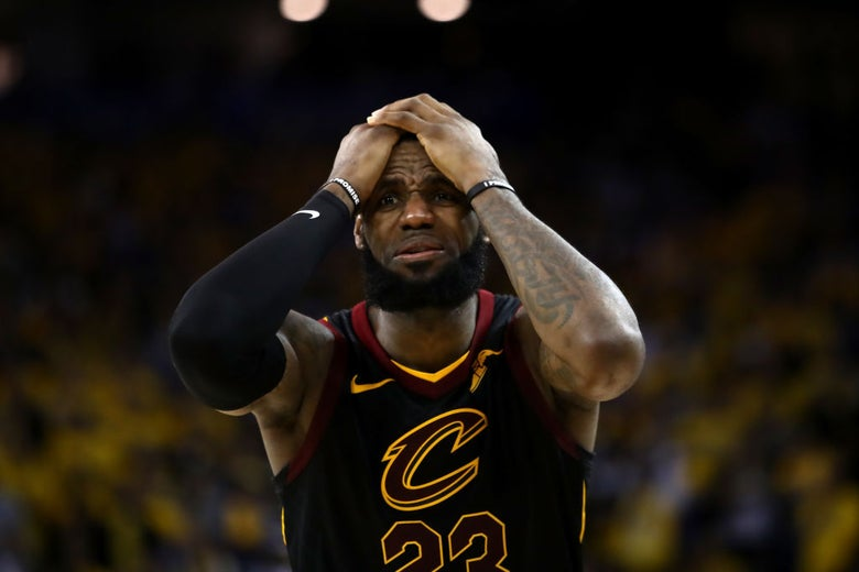 31b82a5ce021 J.R. Smith blunder wastes LeBron James  NBA Finals scoring explosion.