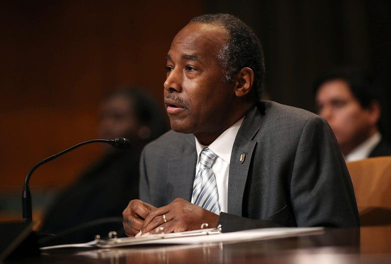 While Testifying Before Congress, Ben Carson Confuses His Job With an Oreo Cookie