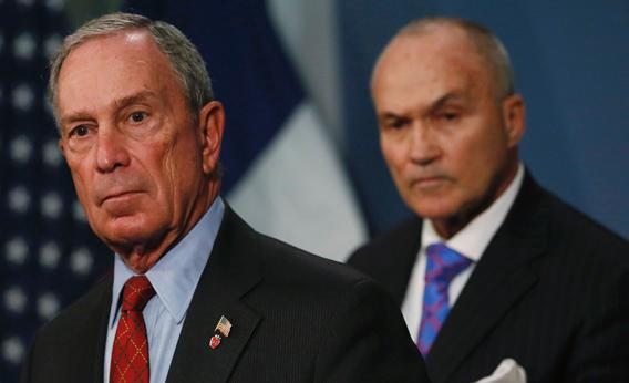 New York City Mayor Michael Bloomberg and New York Police Department (NYPD) Commissioner Ray Kelly