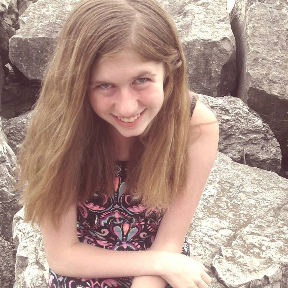 A smiling photo of Jayme Closs from before her disappearance