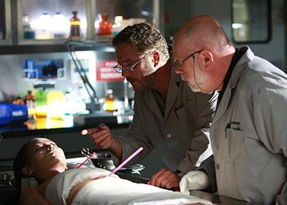 Still photo from CSI.