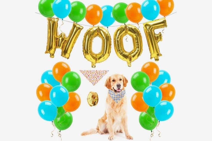 FATPET Dog Birthday Decorations Party Supplies