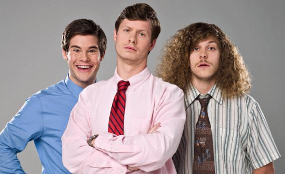 Workaholics on Comedy Central.