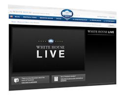 White House Live Chat page.