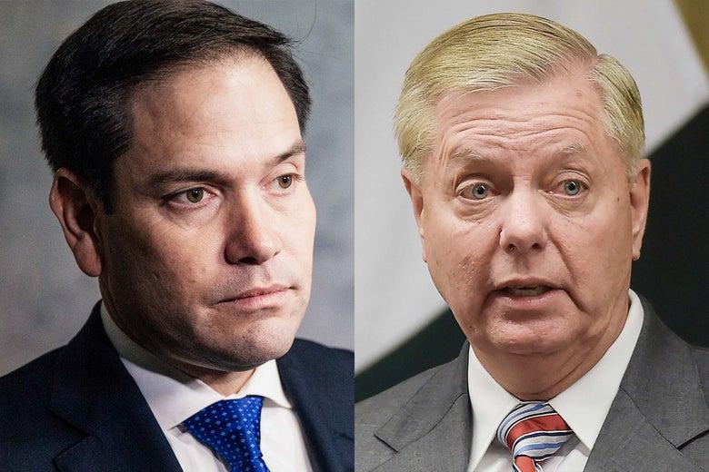 Marco Rubio, Lindsey Graham.