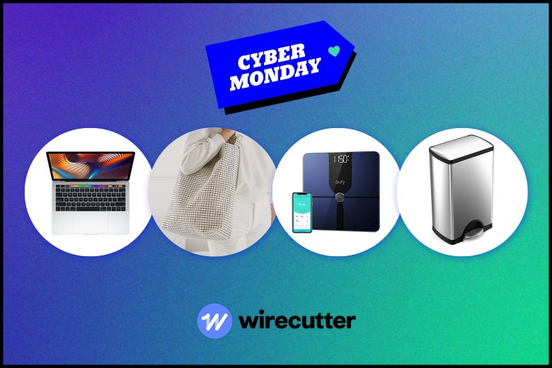 assorted Cyber Monday products