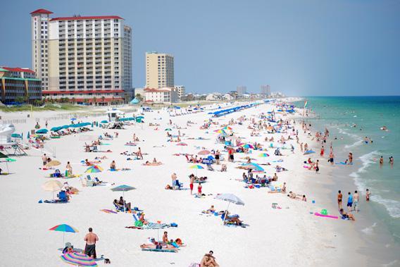 Pensacola Beach, Florida, June 25, 2008.