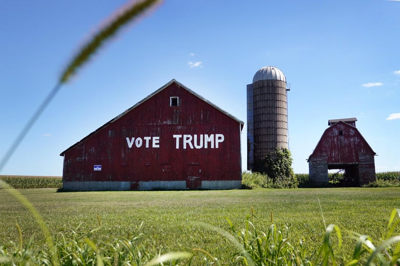 Vast Stretches of America Are Shrinking. Almost All of Them Voted for Trump.