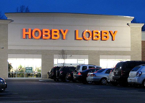 Hobby Lobby store in Stow, Ohio.