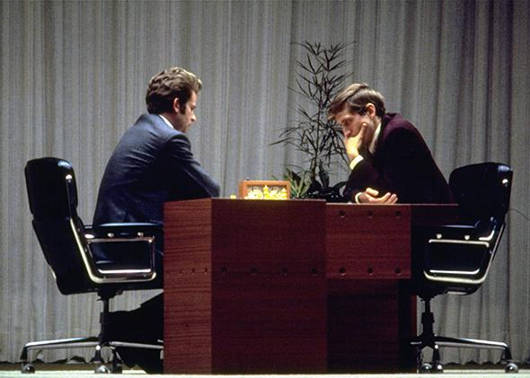 Boris Spassky and Bobby Fischer, Iceland 1972