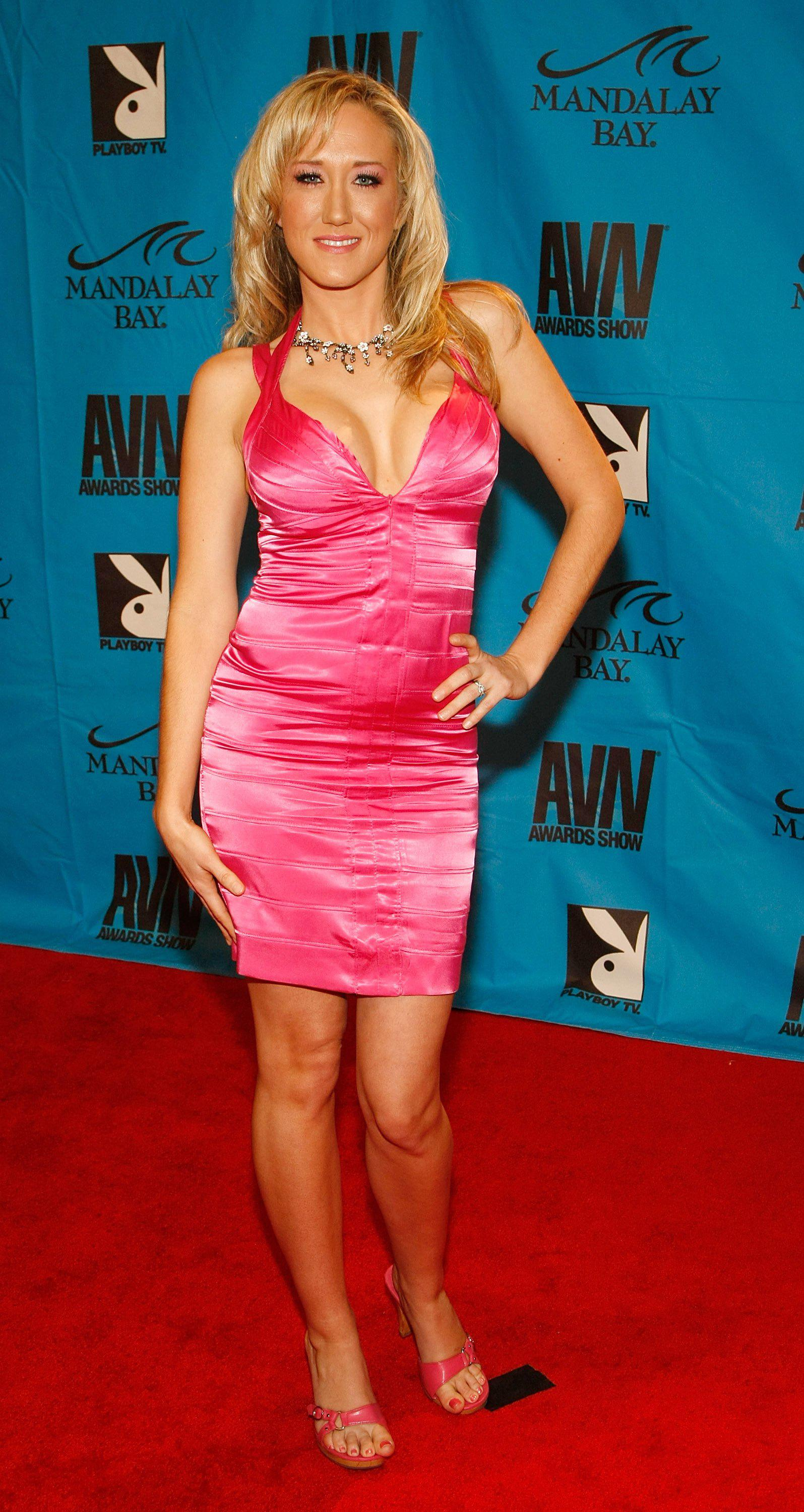 Adult film actress Alana Evans arrives at the 26th annual Adult Video News Awards Show at the Mandalay Bay Events Center January 10, 2009 in Las Vegas, Nevada.