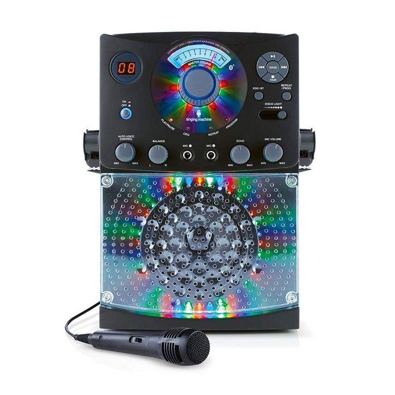 Singing Machine karaoke system