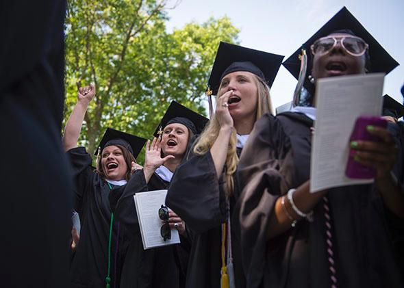 final commencement ceremony at Sweet Briar College.