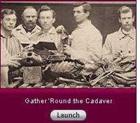Click here to launch a slide show about doctors in training posing with cadavers.