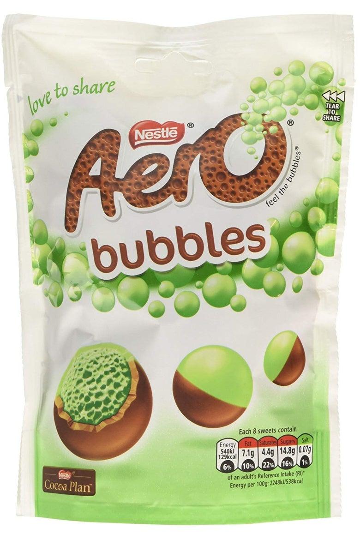 Mint Aero Bubbles
