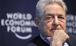 Hungarian-American financier George Soros. Click image to expand.