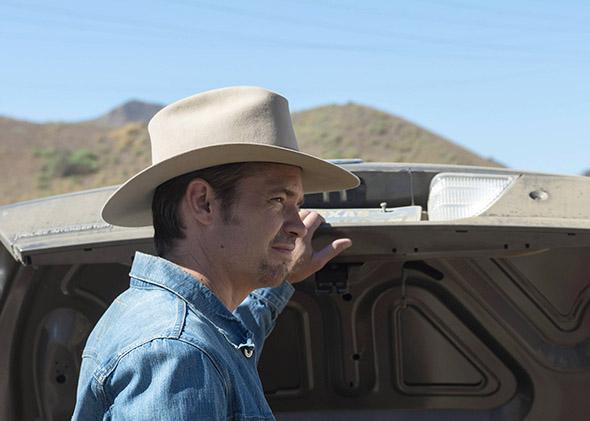 Timothy Olyphant as Deputy U.S. Marshal Raylan Givens.