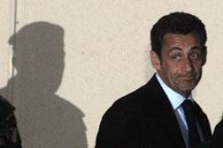 French President Nicolas Sarkozy. Click  image to expand.