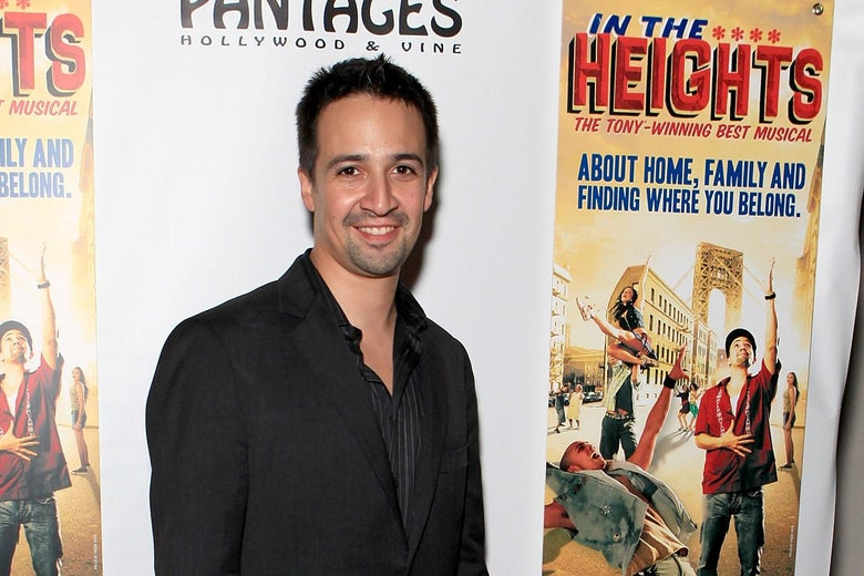 Actor/creator Lin-Manuel Miranda attends the opening night of 'In the Heights' after party at the W Hotel on June 23, 2010 in Hollywood, California.  (Photo by Chelsea Lauren/Getty Images for the Pantages Theatre)