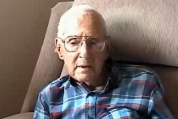 "107-year-old William J. Lake, one of several dozen American WWI veterans Richard Rubin interviewed in the last decade for his book ""The Last of the Doughboys: The Forgotten Generation and Their Forgotten World War"", discusses an encounter with a German sniper at the battle of Meuse-Argonne in 1918."