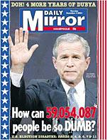 Daily Mirror cover