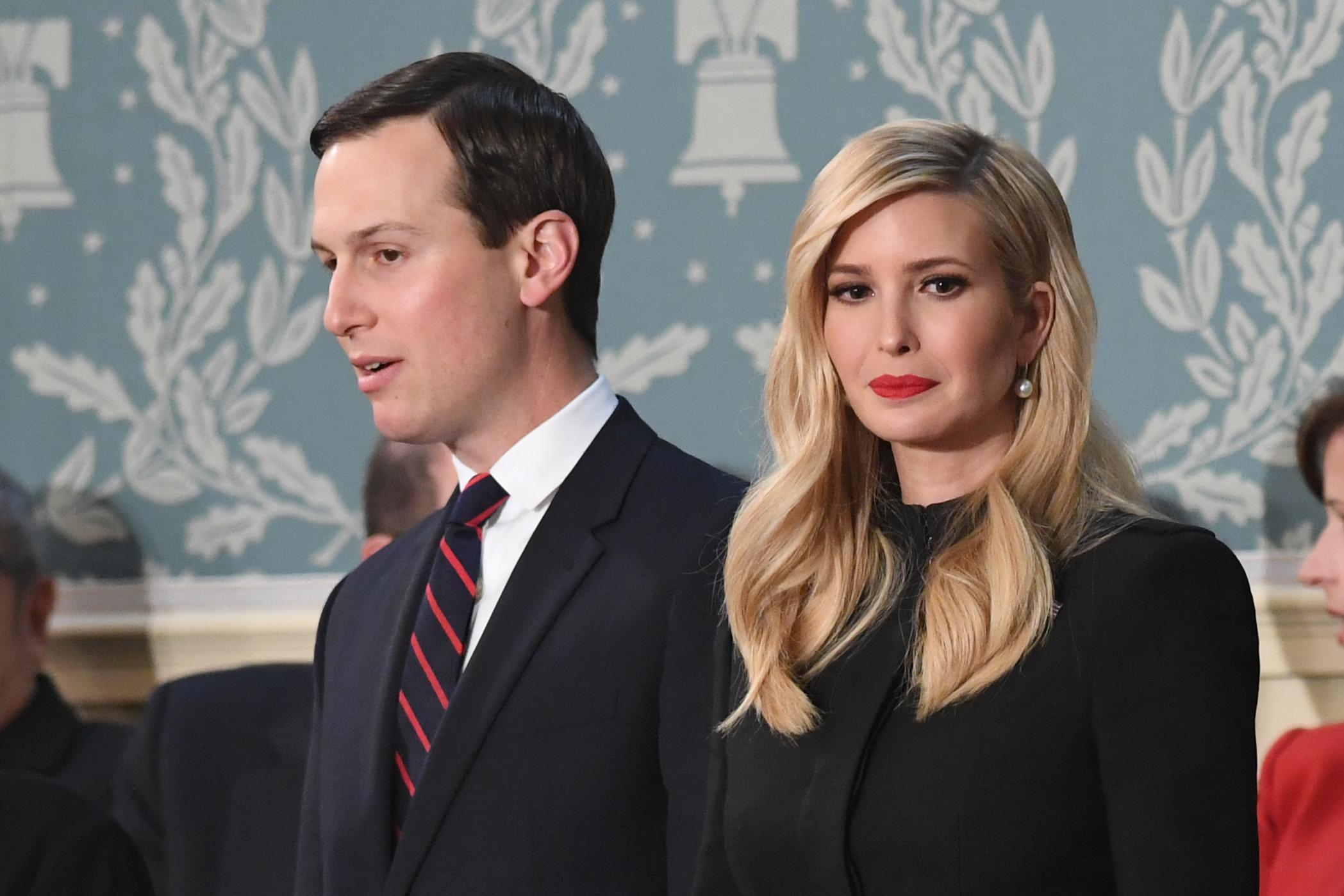 "Jared and Ivanka, who some call ""Javanka"" and no one calls ""Ivared,"" but why not?"