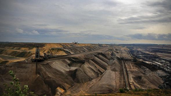 The Garzweiler lignite mine.
