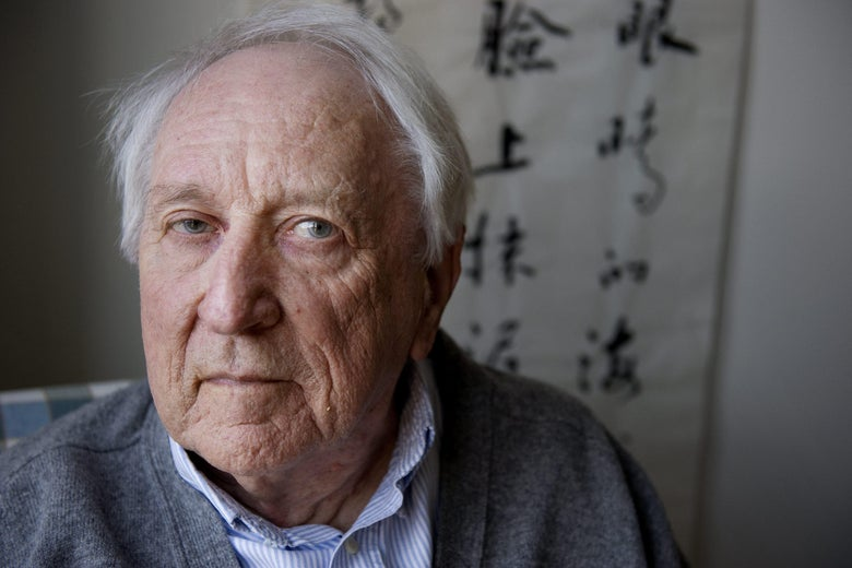 A picture taken on March 31, 2011 shows Swedish poet Tomas Transtroemer at his home in Stockholm, Sweden.