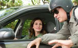 Julia Roberts and Tom Hanks in Larry Crowne. Click to expand image.