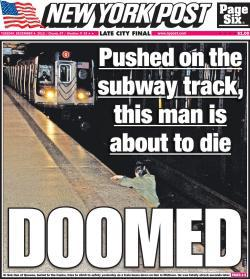 New York Post cover.