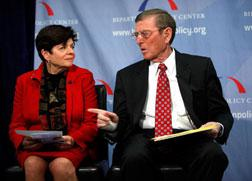 Alice Rivlin and Pete Domenici. Click image to expand.