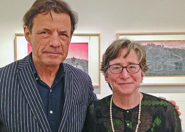 Peter Sis and Margaret Ferguson.