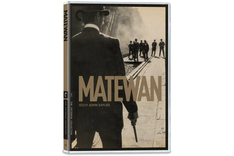The cover of Matewan.