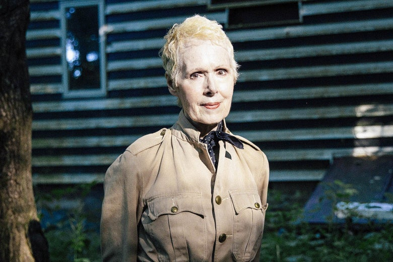 E. Jean Carroll at her home in Warwick, New York.