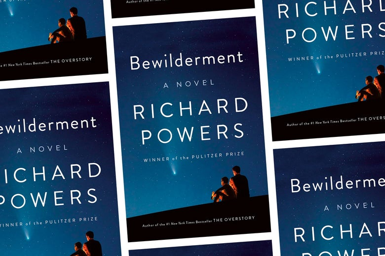 The cover of Richard Powers' Bewilderment.