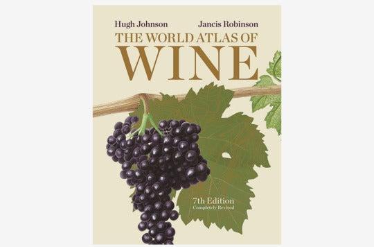 The World Atlas of Wine book.