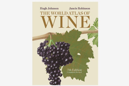 The World Atlas of Wine book.
