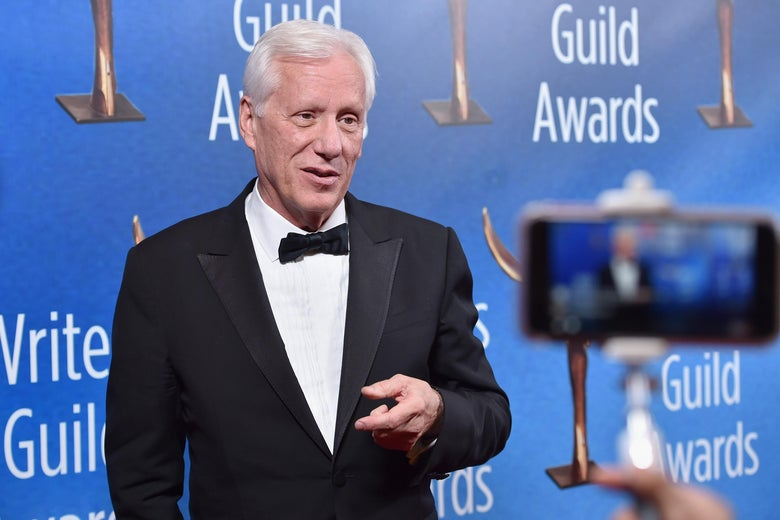 Actor James Woods attends the 2017 Writers Guild Awards.