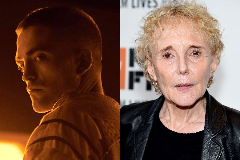 Robert Pattinson in High Life and director Claire Denis.