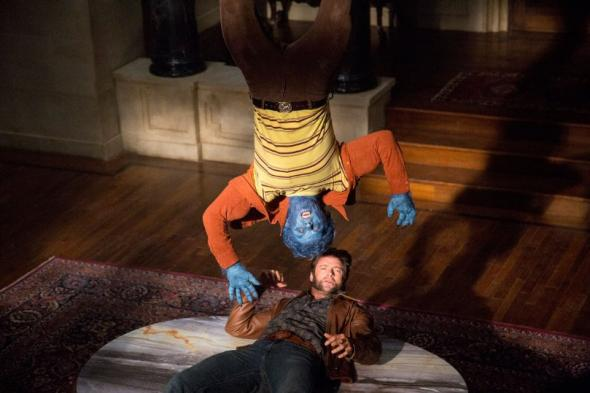 Beast and Wolverine in X-Men: Days of Future Past
