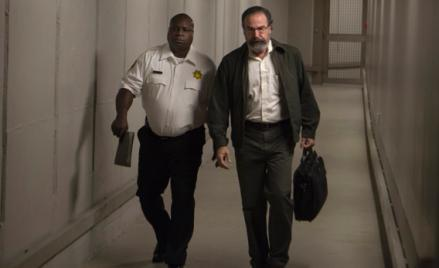 Mandy Patinkin as Saul Berenson (right) in Homeland