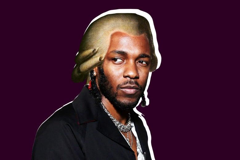 Kendrick Lamar as Mozart.