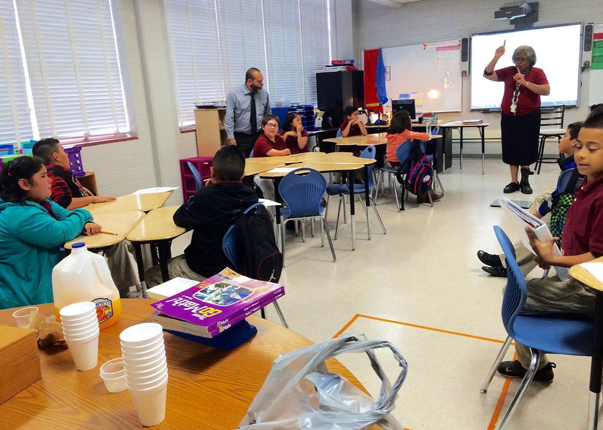 texas classroom.
