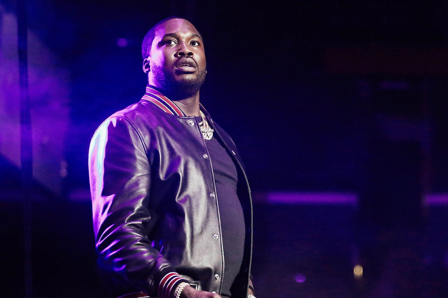 Meek Mill performs onstage during the 2018 BET Experience on June 23 in Los Angeles.